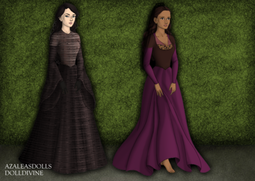 Morwen 4x11 - merlin-on-bbc Fan Art