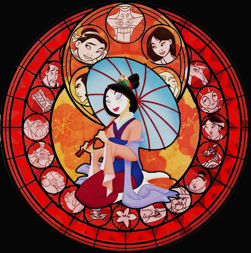 花木兰 Stained Glass