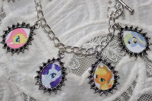 My Little ngựa con, ngựa, pony charm bracelet