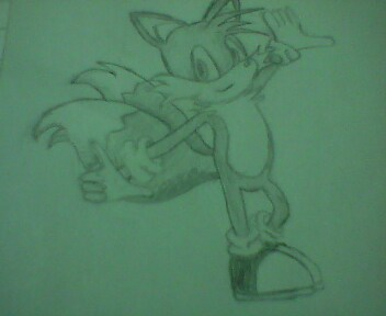 My Tails's Art (pencil)