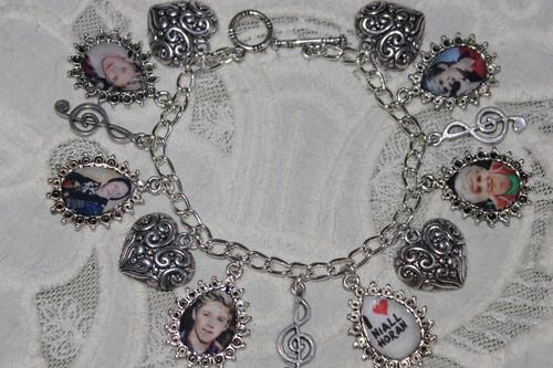 NIALL HORAN charm bracelet