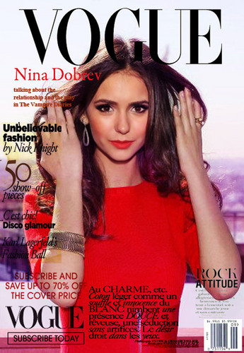 NINA DOBREV: VOGUE MAGAZINE
