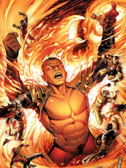 Namor as one of the Phoenix Five