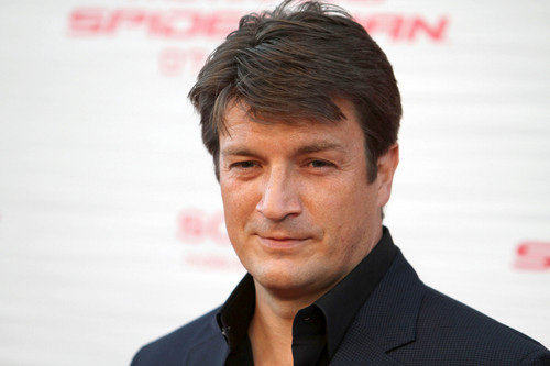 Nathan Fillion 바탕화면 with a business suit entitled Nathan