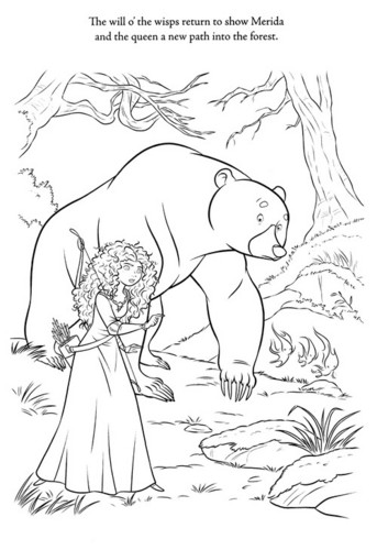 New ब्रेव Coloring Pages (spoiler)