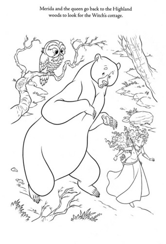 New Brave coloring page (A bit spoiler)