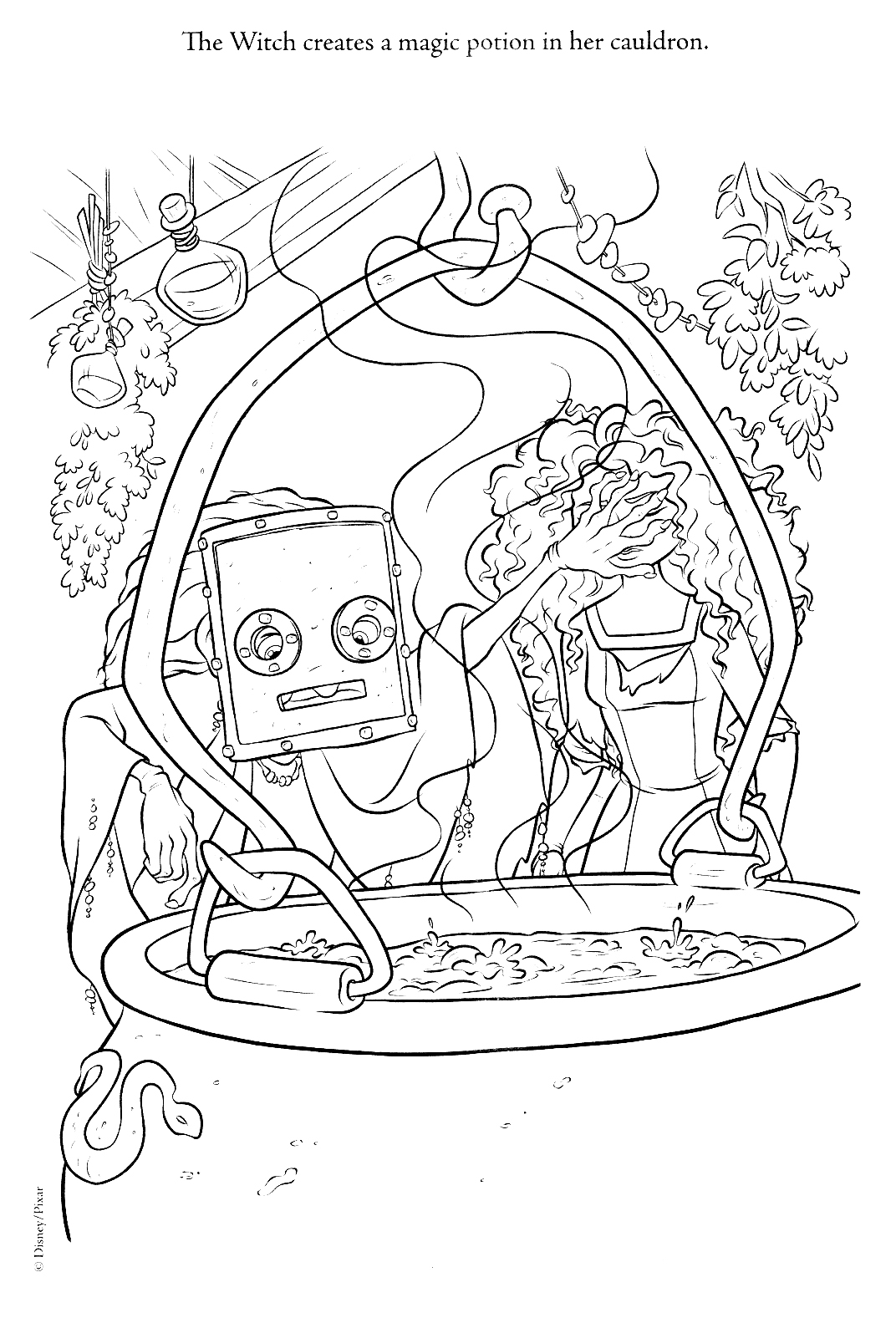 New Ribelle - The Brave coloring pages (A bit spoiler)