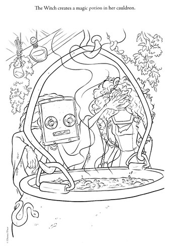 New Merida - Legende der Highlands coloring pages (A bit spoiler)