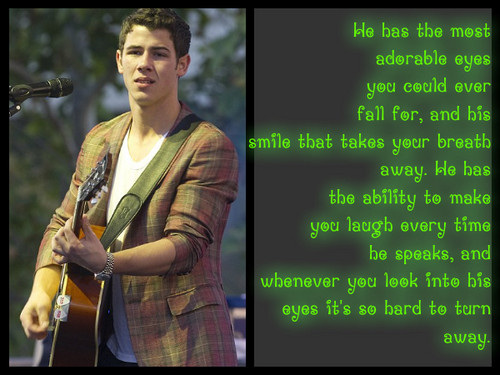 Nick jonas wallpapers.