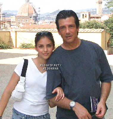 Old foto with dad in Firenze