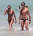 On The Beach In Miami [3 July 2012]