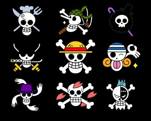 One Piece Flags
