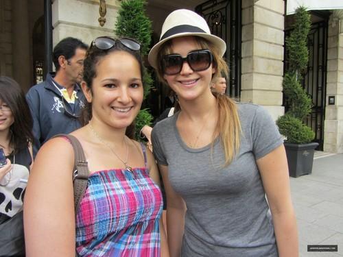 Outside Ritz Hotel (July 3, 2012)