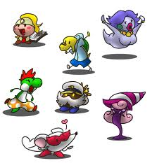 paper mario and the thousand year old door images partner doodles