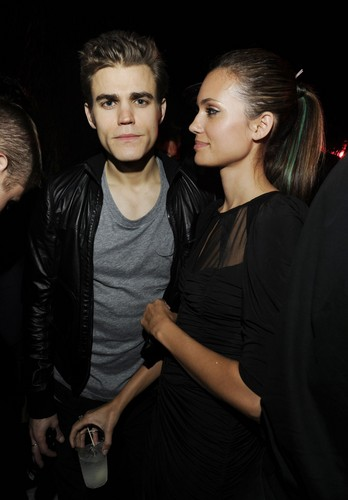 Paul and Torrey - Inside Scream Awards 2009 - paul-wesley-and-torrey-devitto Photo