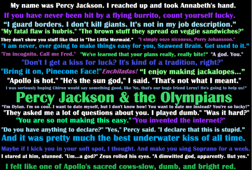 Abuse Central a Percy Jackson story Chapter 1  - Percy