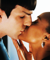 Perfect Kiss - spock-and-uhura photo