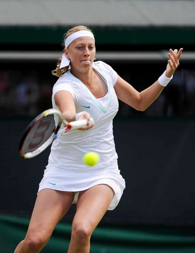 Petra Kvitova hot legs in Wimbledon