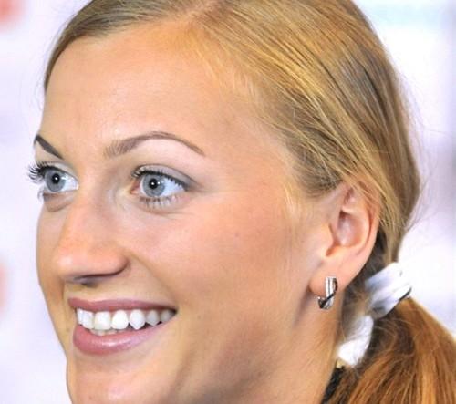 Petra Kvitova sexy face