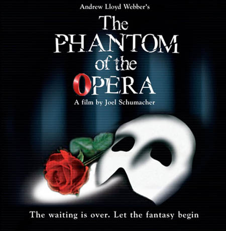 The Phantom Of The Opera wallpaper possibly containing a sign called PoTO