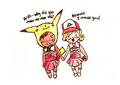 Pokemon!Glee - brittany-and-santana fan art