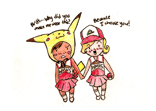 pokemonglee brittany and santana fan art 31370445