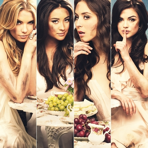 Pretty little liars pretty little liars tv show photo