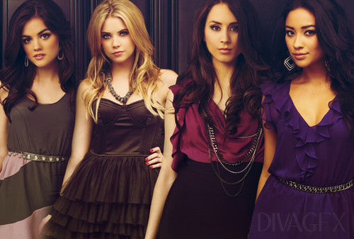 Pretty Little Liars TV Show images Pretty little liars HD wallpaper and background photos