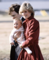 Princess Diana and baby Prince William - princess-diana-and-her-sons photo