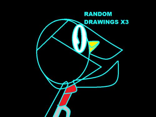 RANDOM DRAWINGS X3