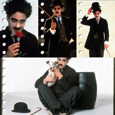 RDJ as Charlie Chaplin