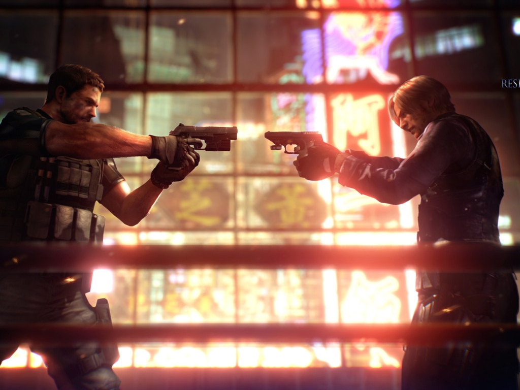 Resident Evil 6 Images RE6 Wallpaper HD And Background Photos