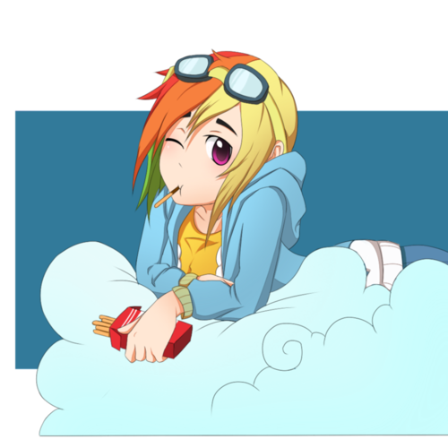regenbogen Dash Humanized
