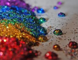 arc en ciel Glitter