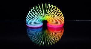 arc en ciel Slinky