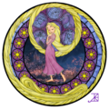 Rapunzel Stained Glass