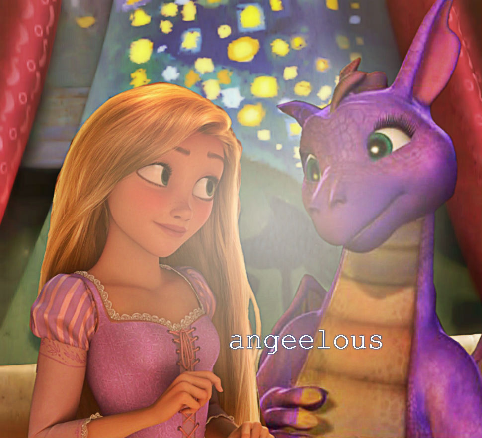 Rapunzel as Rapunzel.