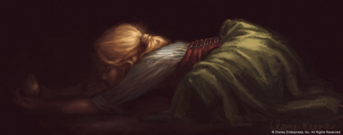 Rapunzel concept arts made by Claire Keane - tangled Photo