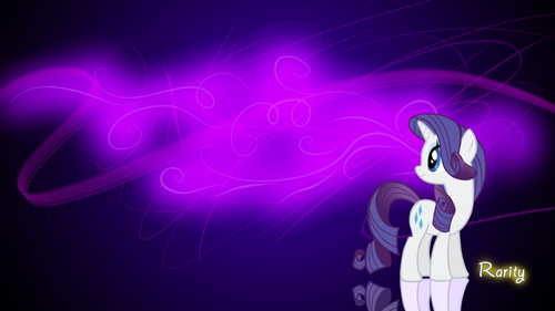 Rarity wallpaper!