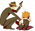 Reborn and Tsuna - katekyoushi-hitman-reborn fan art