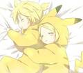 Rin &amp; Len, Just Because ^-^ - misschicky97 photo