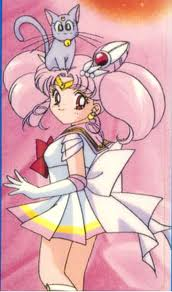 Sailor Mini moon (Rini) wallpaper probably with animê called Rini and Diana