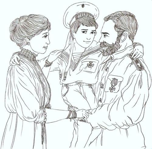 Romanov Drawing