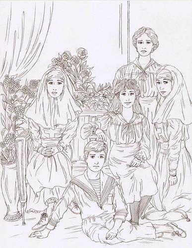 Romanov Drawings
