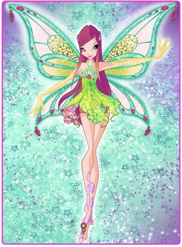 Winx Club wallpaper probably with Anime called Roxy ~ Enchantix