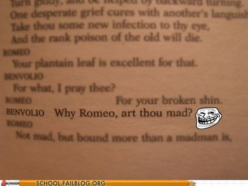 Shakespearean Trolling is the Best Kind of Trolling