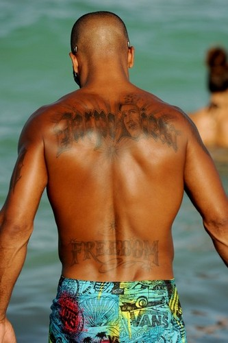 Shemar Moore on the strand