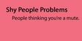 Shy People Problems - shy-people photo