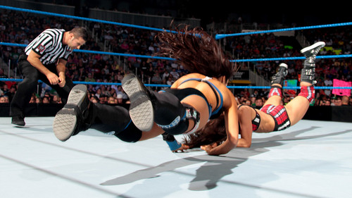 WWE-蕾拉 壁纸 called Smackdown Digitals 6/29/12