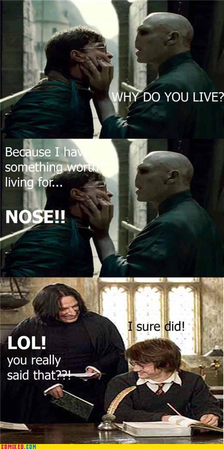 Hahaha Not Funny Meme : Snape fun s family and friends photo